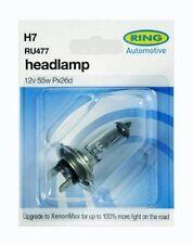 RING H7 499 477 X 2 HEADLAMP HEADLIGHT BULBS MAIN DIP BEAM HALOGEN 12V 55W BULB