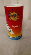 "Hard Rock Cafe Key West 6"" Heavy Ceramic Surfing Embossed Wave Mug Cup"