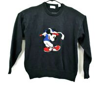 Vintage Mickey's Golf Club by Aureus Disney Mens Large Mickey Mouse Golf Sweater