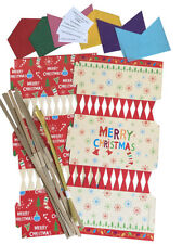 Buy christmas crackers ebay 6 x make your own christmas cracker kit crackers hats snaps jokes solutioingenieria Gallery