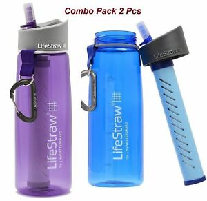2 X LIFE STRAW COMBO PACK BLUE AND PURPLE WITH BEST PRICE