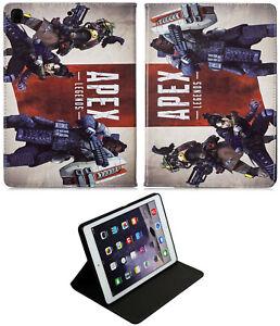 For Apple iPad Pro 9.7 iPad 9.7 iPad Air 1-2  PC Game Apex legends Case Cover