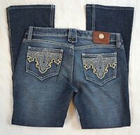 Antik Denim Low Rise Boot Cut Womens Jeans Size 29
