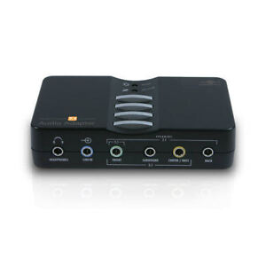 Vantec USB2.0 7.1Ch Surround External Audio Adapter, NBA-200U