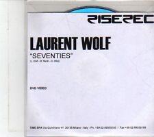(DS211) Laurent Wolf, Seventies - DJ DVD