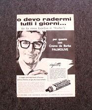 M327- Advertising Pubblicità -1960- PALMOLIVE CREMA DA BARBA