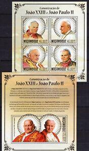Mozambique - Pope John Paul II - catholic Church - stamps Briefmarken MNH** AM