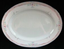 Lenox Fine Bone China Debut Collection Emily Oval Serving Platter