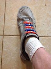 St#7G Florida Gators Shoelaces, 2 pairs. Mix & Match, Blue & Orange. Ships Free.