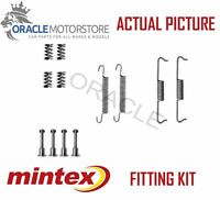 NEW MINTEX REAR PARKING BRAKE SHOES SET FITTING KIT GENUINE OE QUALITY MBA841