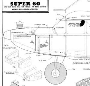 Super 60 original 2 wheel version plan