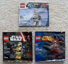 LEGO Star Wars - Rare Protocol Droids - TC-4 5002122 TC-14 5000063 C-3PO 5002948