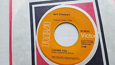 NAT STUCKEY - Loving You / Joe And Mabel's 12th Street Bar And Grill '68 COUNTRY
