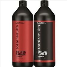 MATRIX TOTAL RESULTS SO LONG DAMAGE SHAMPOO 1 L AND CONDITIONER 1 L WITH 2 PUMPS