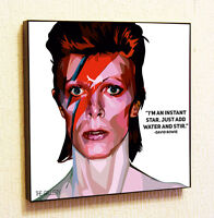 F-979 David Bowie  Album Covers Singer Songwriter   Collage Poster 24x36 canvas