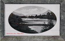 C-1910 Glosso Series Pnc Grants Pass Oregon Frame Like postcard 5009
