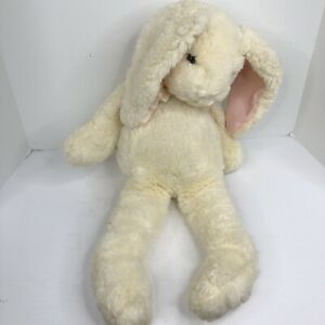 """Vintage Gund Bunny Butter cream rabbit Easter large 26"""" plush toy flop ear"""