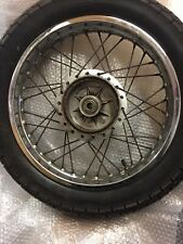 SUZUKI GN250 GN 250 REAR  WHEEL 16 X 2.15 Good Bridgestone Tyre
