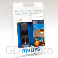 NEW IN BOX Philips PTA128 Wi-Fi Wireless TV adapter PFL3208 PFT4509 USB Dongle