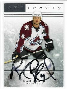 Rob Blake Signed 2004/05 Artifacts Card #73 Upper Deck