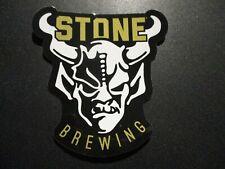 STONE BREWERY die cut GARGOYLE LOGO Black STICKER decal craft beer brewing
