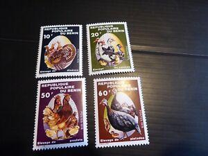 BENIN 1978 SG 722-725 BIRDS MNH (102)