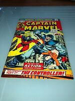 CAPTAIN MARVEL # 30 (1974) JIM STARLIN THANOS SAGA DRAX IRON MAN BRONZE AGE GEM
