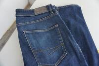 ESPRIT Herren Jeans slim Hose 31/34 W31 L34 stonewash darkblue TOP AB34