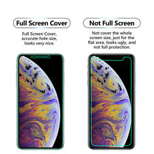 5x FULL SCREEN Face Clear TPU Curved Screen Protector Cover For Apple iPhone XS