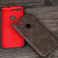 Retro Ultra Thin Leather Back Case Cover For Google Pixel 2/XL/2XL/XZ1/Nokia 8