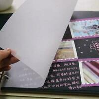 100pcs Transparent Copying Paper Tracing Paper Writing Calligraphy Paper P1V2