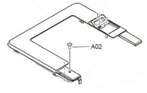 HP LaserJet M402n  (M402/M403)Cover, top assembly  RC4-2956-000CN