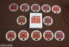 WWE: Raw 20th Anniversary Collection (DVD)  20 Greatest Episodes 12 DISC SET WWF