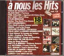Compilation - À Nous Les Hits Vol. 13 - CD - 1991 - Pop Dance Carrere France