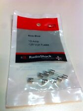 Slow Blow 10 - Amp 125 Volt Fuses  #270-0152 By RadioShack