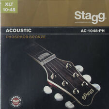 NEW Stagg AC-1048-PH Acoustic Phosphor Bronze 10-48 Guitar Strings