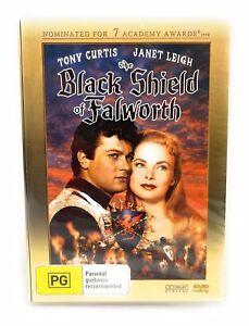 The Black Shield Of Falworth DVD - Tony Curtis New & Sealed Region 4 Free Post