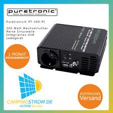 Puretronic® PT-300-PI 300 Watt Reiner Sinus Wechselrichter / Inverter mit USB