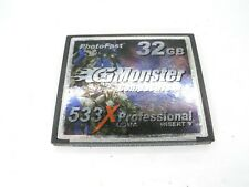 PhotoFast G Monster 32GB 533x UDMA Professional CF Compact Flash Memory Card