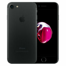 Apple iPhone 7- 32GB - Matte Black (Factory Unlocked) LTE iOS (GSM) Smartphone B