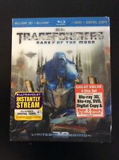Transformers Dark Of The Moon Limited Edition 3D Blu Ray Combo with Slipcover