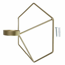 3D Geometrisch Kerzenhalter Eisen Mauer Kerzenwandhalter Wandkerzenhalter Gift