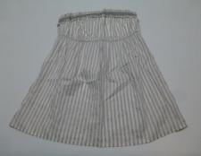 Arizona Junior Womens Size Large Grey Striped Strapless Shirt New