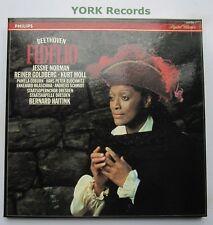 426 308-1 - BEETHOVEN - Fidelio HAITINK / NORMAN / MOLL - Ex 3 LP Record Box Set