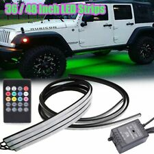 """36""""/48"""" Rgb 8 Color Led Glow Light Underglow Car Truck Underbody Neon Accent Kit(Fits: Neon)"""