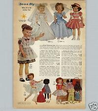 1959 PAPER AD Wards Wishmaker Doll Dolls Bride Bridesmaid Ballerina Lucy Lockett