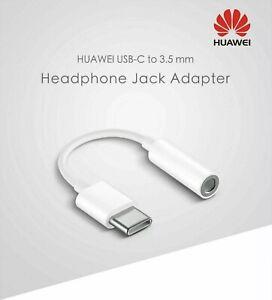 Original Huawei Type C To 3.5mm Aux Headphone Jack Adapter