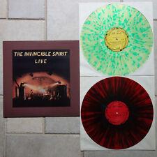 INVINCIBLE SPIRIT LIVE 1990 Hagen 2 LP Multicoloured Wax ex-Invisible Limits NEU