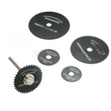 6PCS For Cutoff Circular Saw HSS Rotary Blades Tool Cutting Discs Mandrel RF