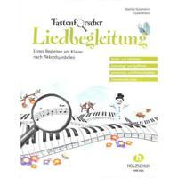 Tastenforscher - Liedbegleitung - Noten für Klavier 3415 - 9783864340062